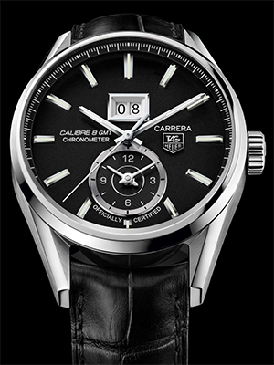 Tag Heuer Carrera Calibre 8 GMT Replica Watches