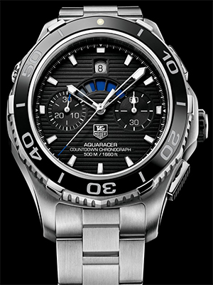 Tag Heuer Aquaracer Chronograph watches
